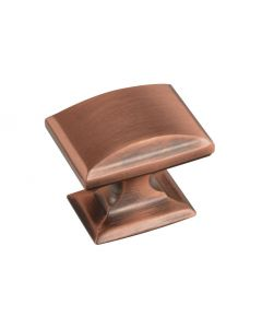 Amerock BP26340BC Candler 1-1/4 in. (32mm) Cabinet Knob, Brushed Copper