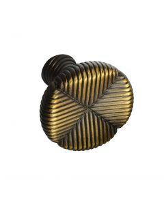 Allen + Roth #340688 Cabinet Knob, Aged Brass